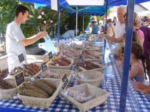 markt in Hourtin